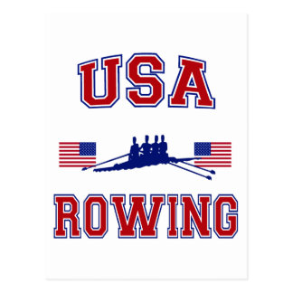 USA Rowing Postcard