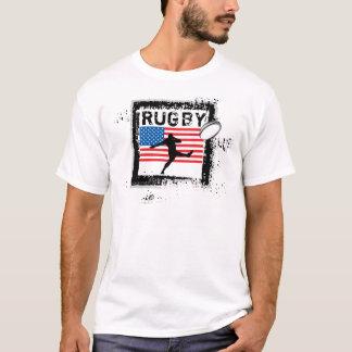 USA Rugby Fans T-Shirt Kick