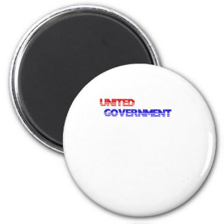 USA. Ruling the world so the people don't have to. 2 Inch Round Magnet