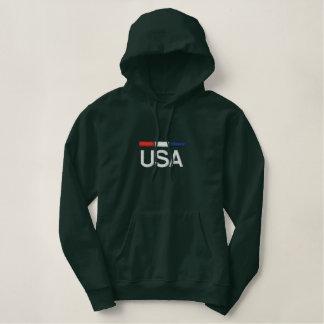 USA RWB Embroidered Hoodie