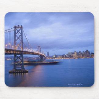 USA, San Francisco, City skyline with Golden 2 Mouse Pad