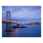 USA, San Francisco, City skyline with Golden 2 Poster