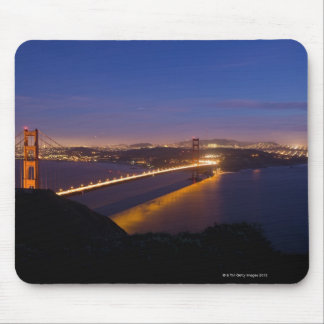USA, San Francisco, City skyline with Golden 3 Mouse Pad