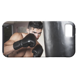 USA, Seattle, Portrait of young man boxing in iPhone SE/5/5s Case
