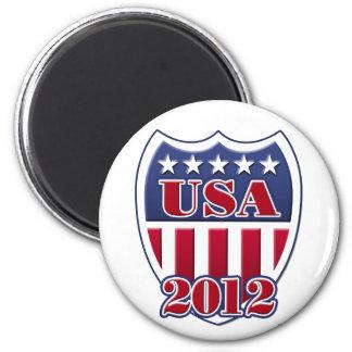USA Shield 2012 Magnet