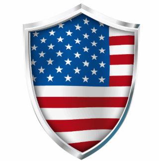 USA Shield Statuette