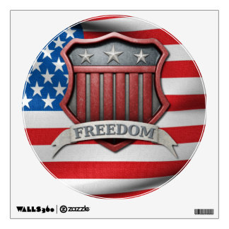USA Shield Wall Decal