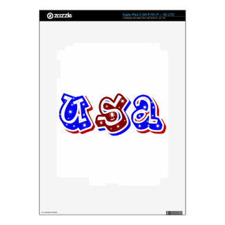 USA,Shine_ iPad 3 Skin