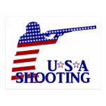 USA  Shooting Postcard