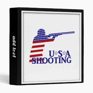 USA Shooting (Red White And Blue Rifle) Binder