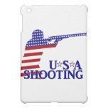USA Shooting (Red White And Blue Rifle) iPad Mini Cover