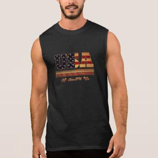 USA since 1776 Sleeveless Shirt