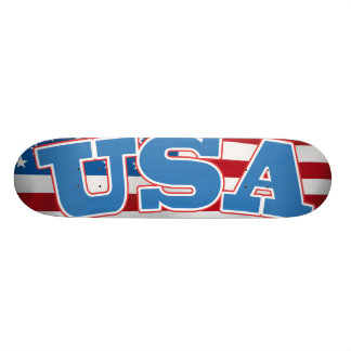 USA SKATEBOARD DECK
