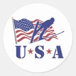 USA Ski Jumper - Sticker