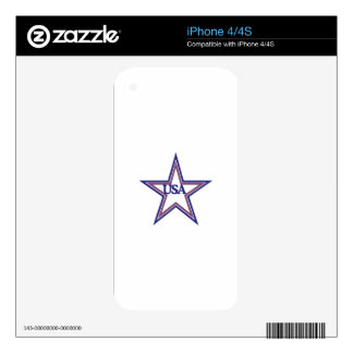 USA SKIN FOR iPhone 4S