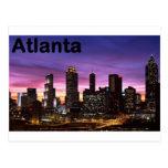 USA skyline at sunset (St.K) Postcard