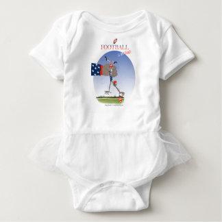 USA slam dunk, tony fernandes Baby Bodysuit