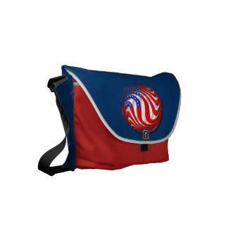 USA SMALL MESSENGER BAG