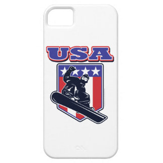 USA Snowboarders iPhone 5 Covers