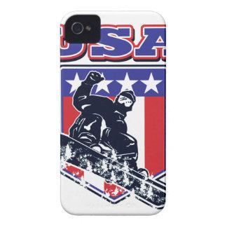 USA Snowboarding Case-Mate iPhone 4 Case