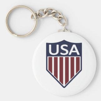 USA Soccer 1950 Keychain