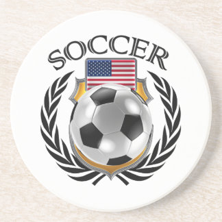 USA Soccer 2016 Fan Gear Coaster