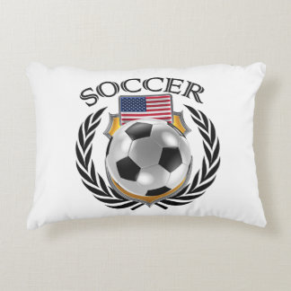 USA Soccer 2016 Fan Gear Decorative Pillow