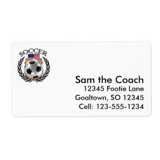 USA Soccer 2016 Fan Gear Label