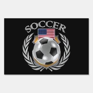 USA Soccer 2016 Fan Gear Lawn Sign