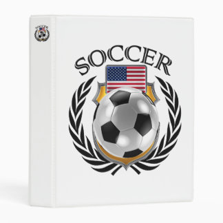USA Soccer 2016 Fan Gear Mini Binder