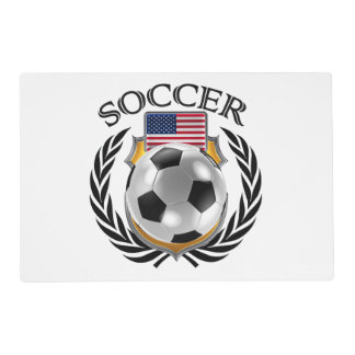 USA Soccer 2016 Fan Gear Placemat