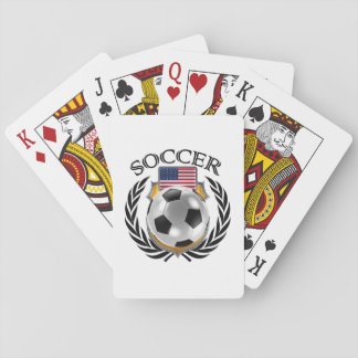USA Soccer 2016 Fan Gear Playing Cards