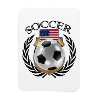 USA Soccer 2016 Fan Gear Rectangular Photo Magnet