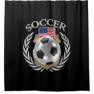 USA Soccer 2016 Fan Gear Shower Curtain