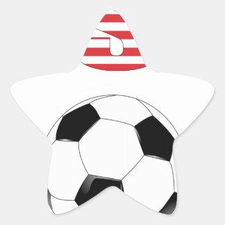 USA Soccer 3407 Star Sticker