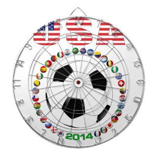 USA Soccer 4017 Dartboard