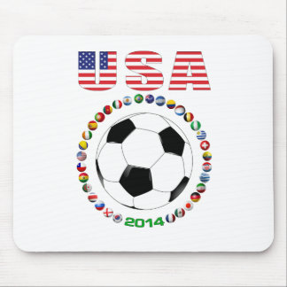 USA Soccer 4017 Mousepad