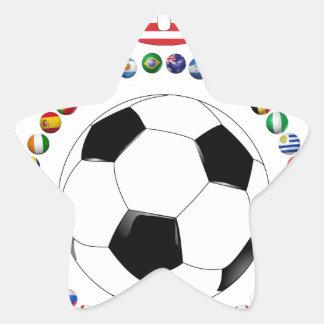 USA Soccer 4017 Star Sticker