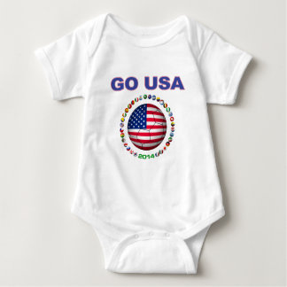 USA Soccer  5545 Baby Bodysuit