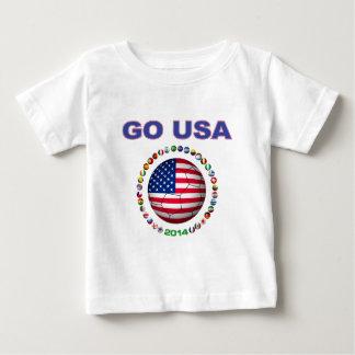 USA Soccer  5545 Baby T-Shirt