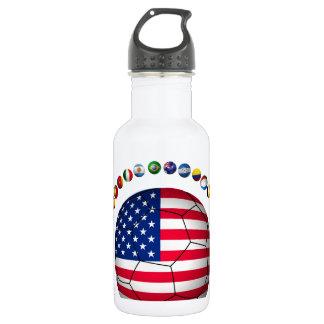 USA Soccer  5545 Water Bottle