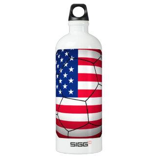 USA Soccer Aluminum Water Bottle