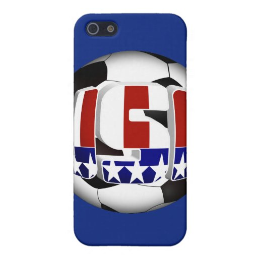 USA Soccer Ball Cover For iPhone 5