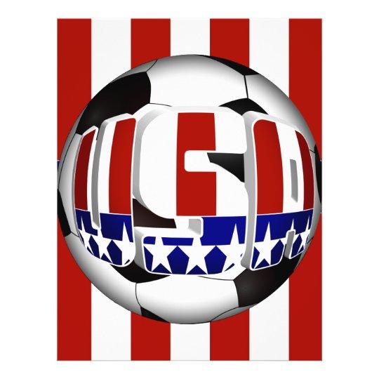 USA Soccer Ball Flyer