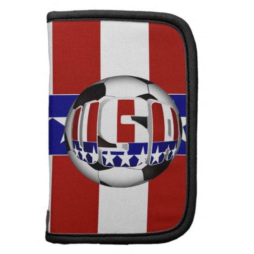 USA Soccer Ball Folio Planners