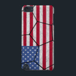 "USA Soccer Ball iPod Touch Case<br><div class=""desc"">iPod touch case with an American flag soccer ball design.  Check out the International Sports store for more great county themed sports products.</div>"