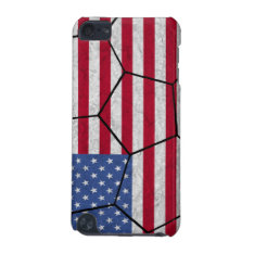 Usa Soccer Ball Ipod Touch Case at Zazzle