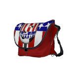 USA Soccer Ball Messenger Bag