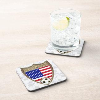 USA Soccer Beverage Coaster