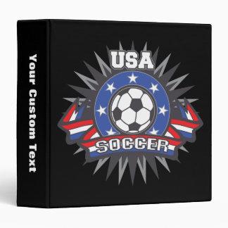 USA Soccer Binder